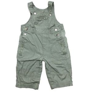 6 For $20 3-6 Months Green Overall Pants